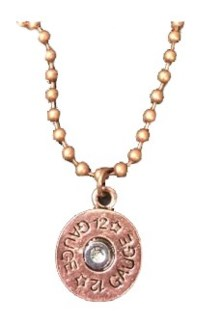 12 Gauge Shotgun Shell Necklace