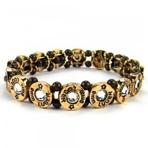 9mm Luger Shotgun Shell Bracelet