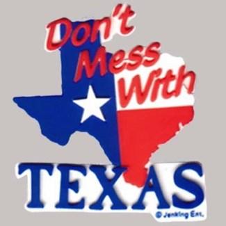 Texas PVC Magnet