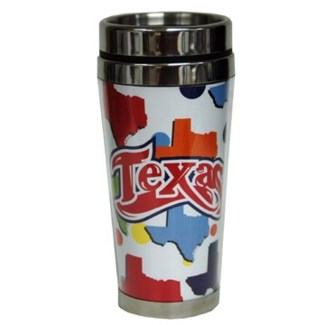 Texas Stainless Steel Acrylic Mug