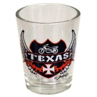 Texas Biker Shotglass