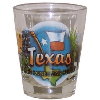 Texas Elements Shotglass