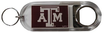 TX A&M Bottle Opener Keychain