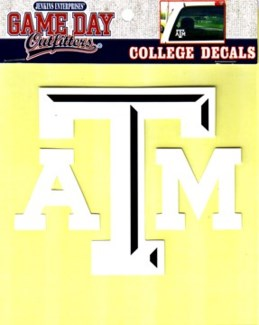 TX A&M Window Decal