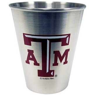 TX A&M Stainless Steel Shotglass