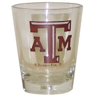 TX A&M Shotglass