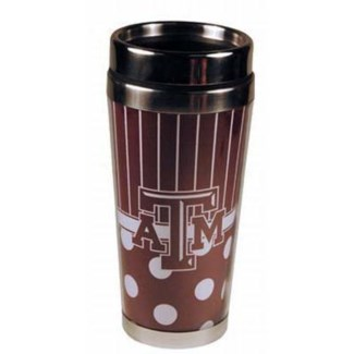 TX A&M Polka Dot Mug