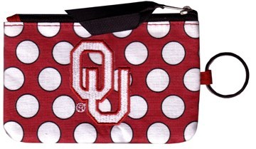 OU Coin Purse Keychain