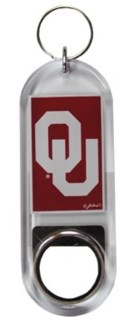 OU Bottle Opener Keychain