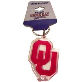 OU Shape Keychain