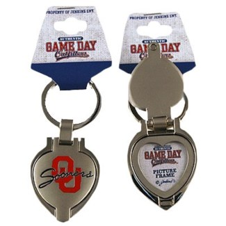 OU Locket Keychain