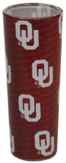 OU Tall Shadow Shotglass