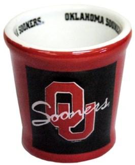 OU Ceramic Shotglass