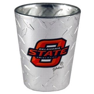 OSU Diamond Plated Shotglass