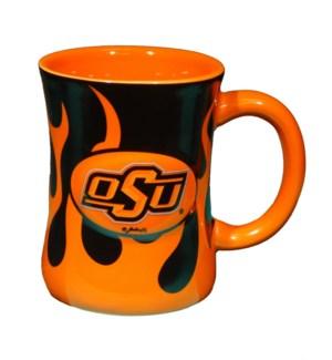 OSU Mug W/Flames