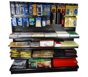 4'Truck Supply Section (Safety, Stationary, & Air Fresheners)