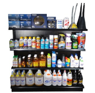 4' Truck Supply Section (Additives, Lubricants, Cleaning, Etc.)