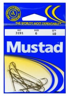 Mustad #6 Brown Hook
