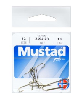 Mustad #12 Brown Hook