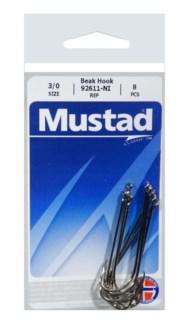 Mustad Long Shank 3/0 Hook
