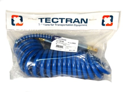Tectran 15' Air Coil - Blue