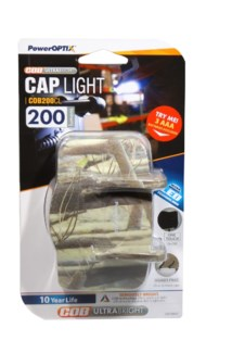 LED Cap Light Camo