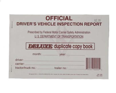 Safety Inspection Book