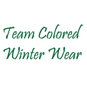 Team Colored Winter Wear