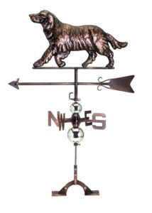 Emma Retriever Weathervane