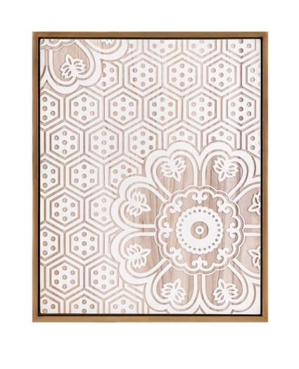 Ella Elaine Alaina Etched Wall Decor