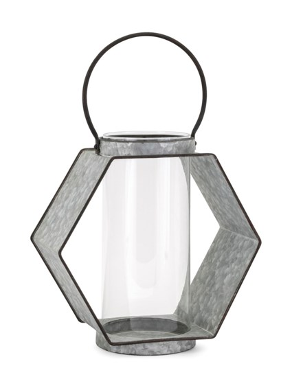 Reavis Galvanized Large Lantern