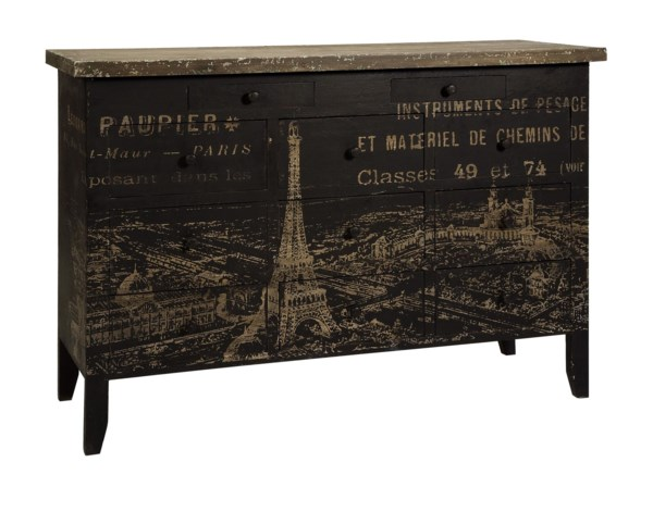 Antoinette 11-Drawer Paris Sideboard