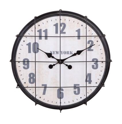 Ella Elaine New York Cage Clock