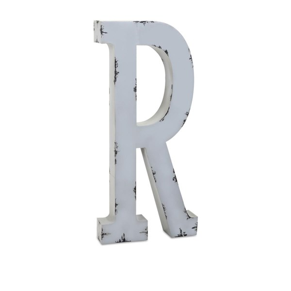 Ella Elaine Oversized Metal Letter R