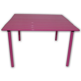 Pink Aluminum Table in a Bag