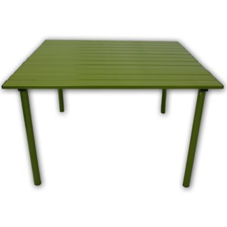 Green Aluminum Table in a Bag