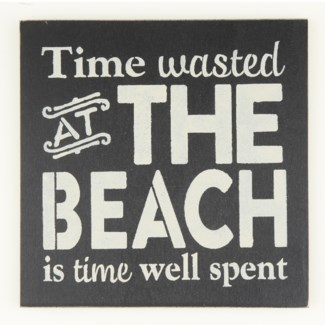 Time Wasted at the Beach