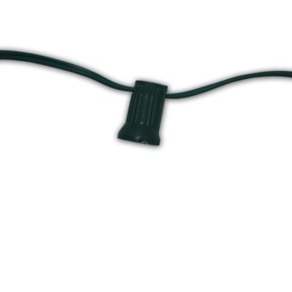 Black Cord 25ft with 24 lights - 18AWG - Cord only
