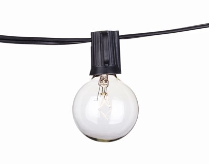 Savannah String Lights - 25ft with Clear Bulbs