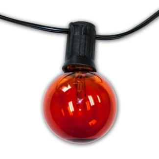Savannah String Lights - 48ft with Amber bulbs
