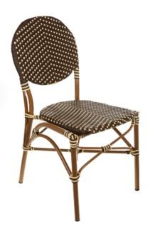 Brown & Cream Café Bistro Chair