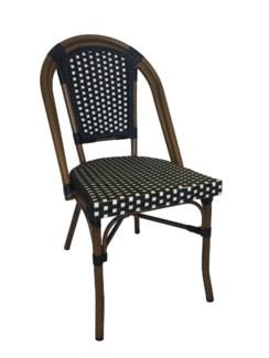 Original Black & White Café Bistro Chair