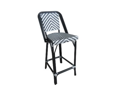 Black & White - Modern Cafe Bistro Stool