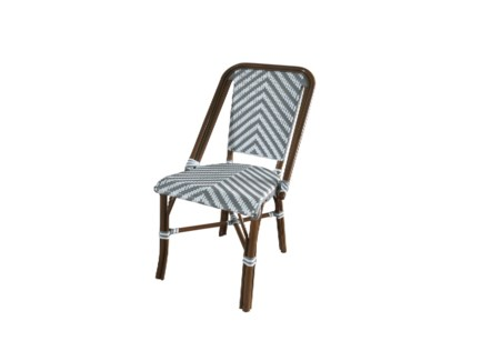Grey & White - Modern Cafe Bistro Chair