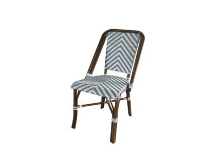 Grey & White - Modern Cafe Bistro Chair