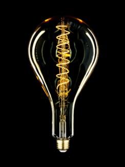MEGA Clear Glass Oversize LED Vintage Bulb