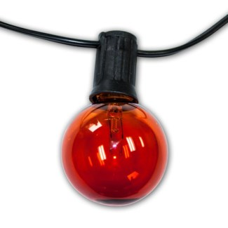 Party  String Lights - 25ft. Amber color Bulbs included