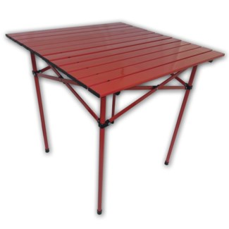 Red Regular Table in a Bag