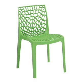 Green Web Chair