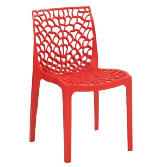 Red Web Chair